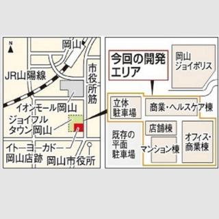 イトヨーカドー岡山 跡地 予定地図 ss.png
