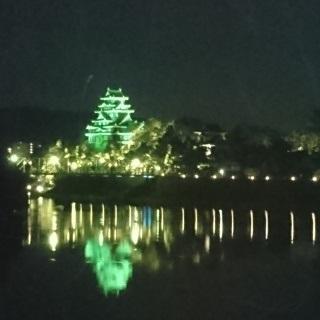 岡山城 夏 ライトアップ 00DSC_0122.JPG